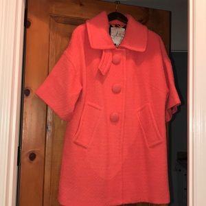 Milly Tweed Coat. size 6